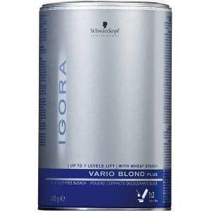 Decoloración Azul Vario Blond Plus Schwarzkopf 450gr