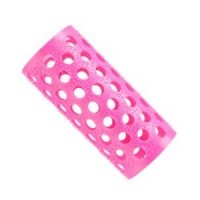 Bucle Plástico Rosa Nº3 25mm Docena