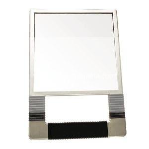 Espejo Peluquería Tocador Rectangular Plateado 29×20cm Steinhart