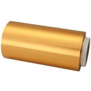 Papel Mechas Oro Rollo Aluminio 13cm × 100m
