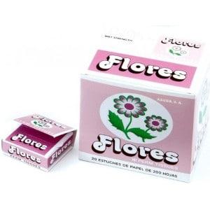 Papel Permanente Flores Caja 20×100 Hojas