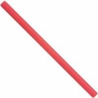 Papillots Largos Finos Rojos 25×1,2cm Docena