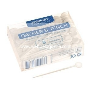 Pinchitos Irrompibles Blancos Caja 120 Unid Steinhart