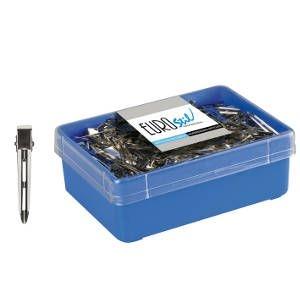 Pinza Rulo Mediana 6cm Caja 120 Unid R90 Eurostil