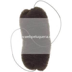 Relleno Peinados Grande con Goma Negro