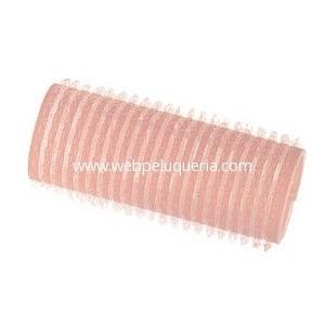 Rulo Velcro Autoadherente 24mm Rosa 6 Unid