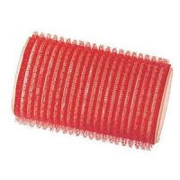 Rulo Velcro Autoadherente 34mm Rojo 6 Unid