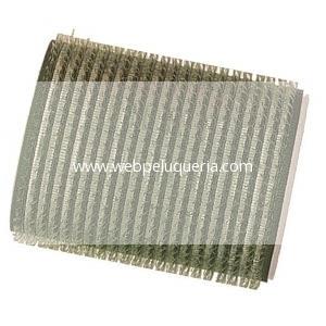 Rulo Velcro Autoadherente 42mm Verde 3 Unid
