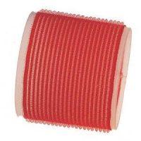 Rulo Velcro Autoadherente 60mm Rojo 3 Unid