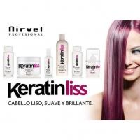 keratina keratinnliss nirvel cabello reestructurante
