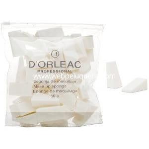 Esponja Maquillaje Latex D'orleac 50 unidades