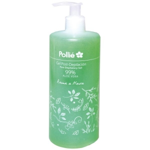 Gel Post-Depilacion 99% Aloe Vera 500ml Pollie