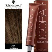 Igora Color 10 Castaño Claro Natural 5-0 Schwarzkopf 60ml