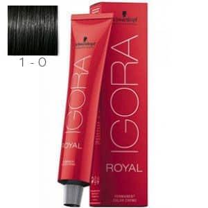 Tinte Igora Royal Negro 1-0 Schwarzkopf 60ml