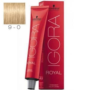 Tinte Igora Royal Rubio Muy Claro 9-0 Schwarzkopf 60ml