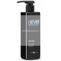 Wet Gel Fijación Natural Nirvel 500ml Efecto Mojado