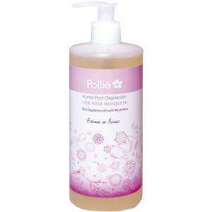 Aceite Post Depilación Rosa Mosqueta 500ml Pollie