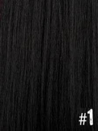Extensiones Clip 1 Lisas Color Negro Remy 100% Cabello Natural