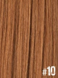 Extensiones Clip 10 Lisas Color Rubio Medio Remy 100% Cabello Natural