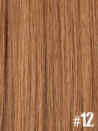 Extensiones Clip 12 Lisas Color Rubio Dorado Cobre 100% Cabello Natural