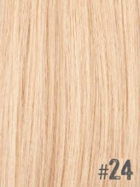 Extensiones Clip 24 Lisas Color Rubio Beige Remy 100% Cabello Natural