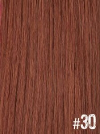 Extensiones Clip 30 Lisas Color Rubio Cobrizo Remy 100% Cabello Natural