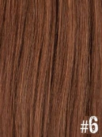 Extensiones Clip 6 Lisas Color Marrón Remy 100 Cabello Natural