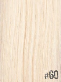 Extensiones Clip 60 Lisas Color Rubio Platino Remy 100% Cabello Natural