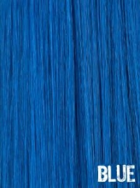 Extensiones Clip Azul Lisas Remy 100% Cabello Natural