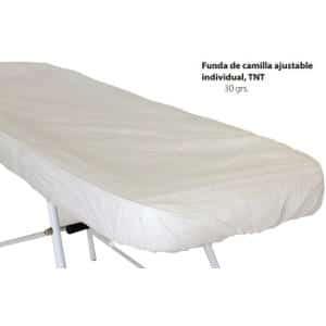 Funda Camilla Ajustable Individual Desechable 210X100cm 30 gramos