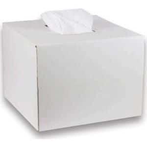 Toalla SpunLace Desechable Blanca 40×80 cm Caja Dispensadora 300 Unidades