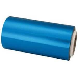 Papel Mechas Azul Rollo Aluminio 12cm × 70 Metros