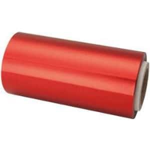 Papel Mechas Rojo Rollo Aluminio 12cm × 70 Metros
