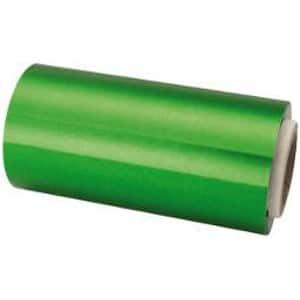 Papel Mechas Verde Rollo Aluminio 12cm × 70 Metros