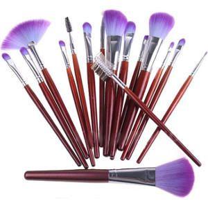 Productos de estética. Estuche Brochas Maquillaje 16 unidades