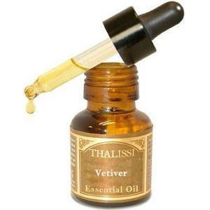 Aceite Esencial Puro de Vetiver 100% 17ml Thalissi