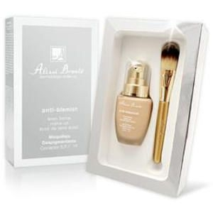 Anti-Blemish Make-Up Maquillaje Despigmentante + Regalo Pincel Alissi Bronte