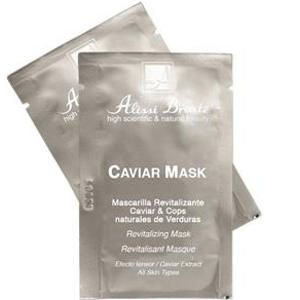 Caviar Mask Mascarilla Revitalizante 36 unids x 5ml Alissi Bronte