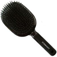 Cepillo Plano Plastico Nylon con Bola Negro Grande Steinhart