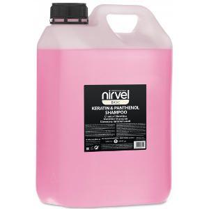 Champú Nutritivo Keratina Panthenol Basic Nirvel 5000ml