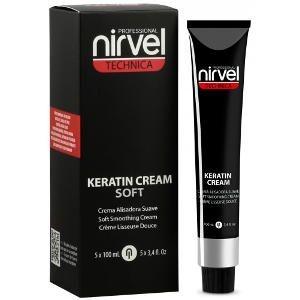 Crema Alisadora Suave Keratina Keratinliss Technica Nirvel 5x100ml