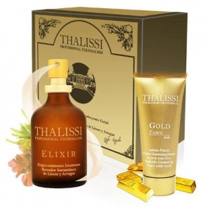 ELIXIR 60 ml. GOLD FOAM 24K 20 ml. Thalissi