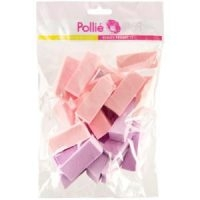 Esponjas Maquillaje Triangular Bolsa 24 Unidades Pollie