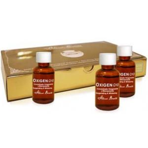 Oxigen Q10 Tratamiento Oxigenante y Blanqueante 8 unids x 5ml Alissi Bronte