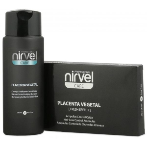 Tratamiento Anticaida Placenta Ampollas + Regalo Champu Care Nirvel