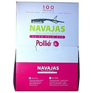 Navaja Desechable Pollie Caja 100 Unidades