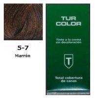 Tinte Tur 5-7 Marrón + Oxidante Regalo