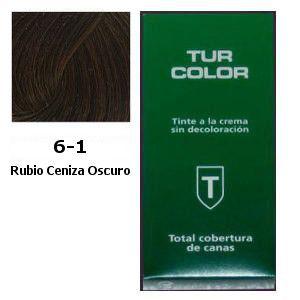 Tinte Tur 6-1 Rubio Ceniza Oscuro