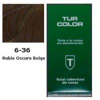 Tinte Tur 6-36 Rubio Oscuro Beige