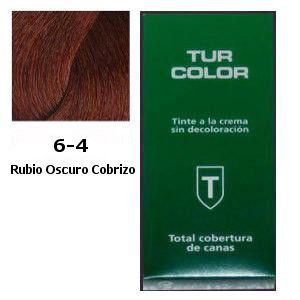 Tinte Tur 6-4 Rubio Oscuro Cobrizo